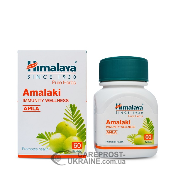 Амалаки (Амла) Хималая Велнес (Amalaki Himalaya Wellness) 60 таб