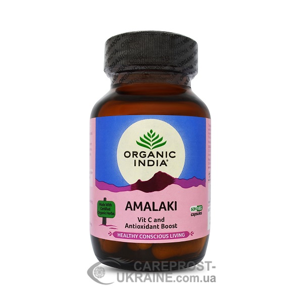 Амалаки (Амла) Organic India 60 капс