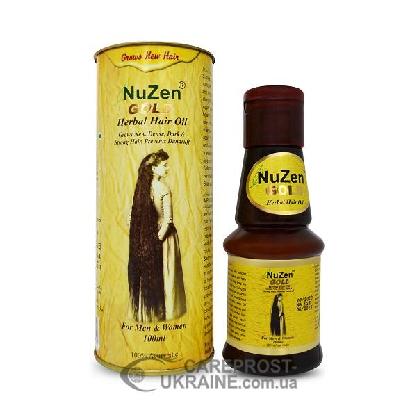 Масло Нузен Голд (Nuzen Gold) для роста и укрепления волос 100 мл