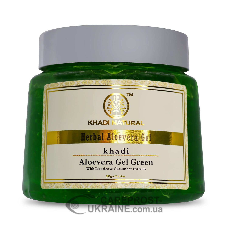 "Гель ""Алоэ Вера"" Кхади (Aloevera Gel Green, Khadi), 200 г"