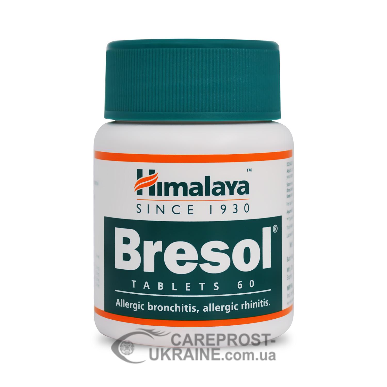 Бресол Хималая (Bresol Tablets Himalaya), 60 табл.