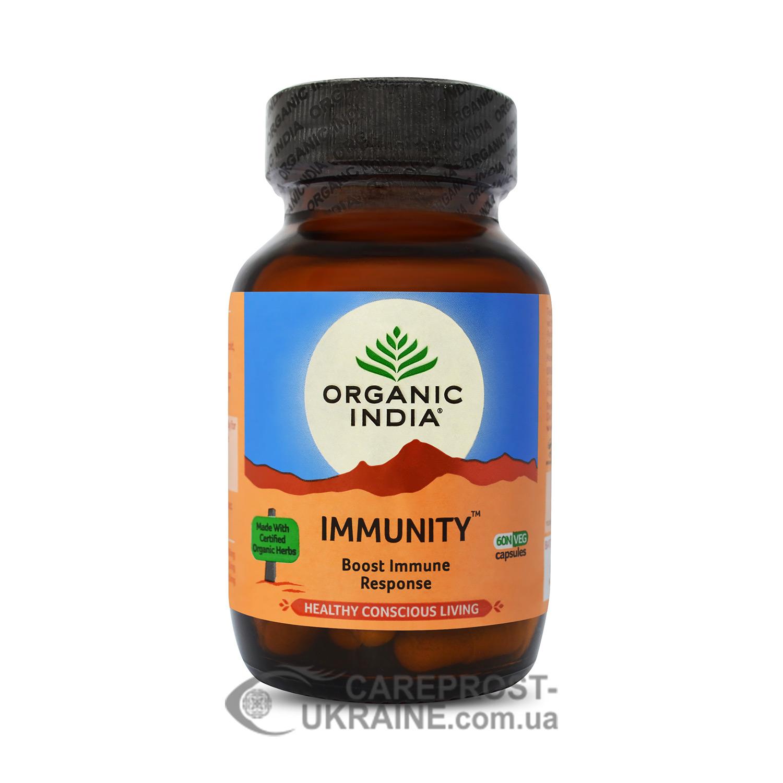 Иммьюнити «Иммунитет» Органик Индия (Immunity Organic India), 60 капс