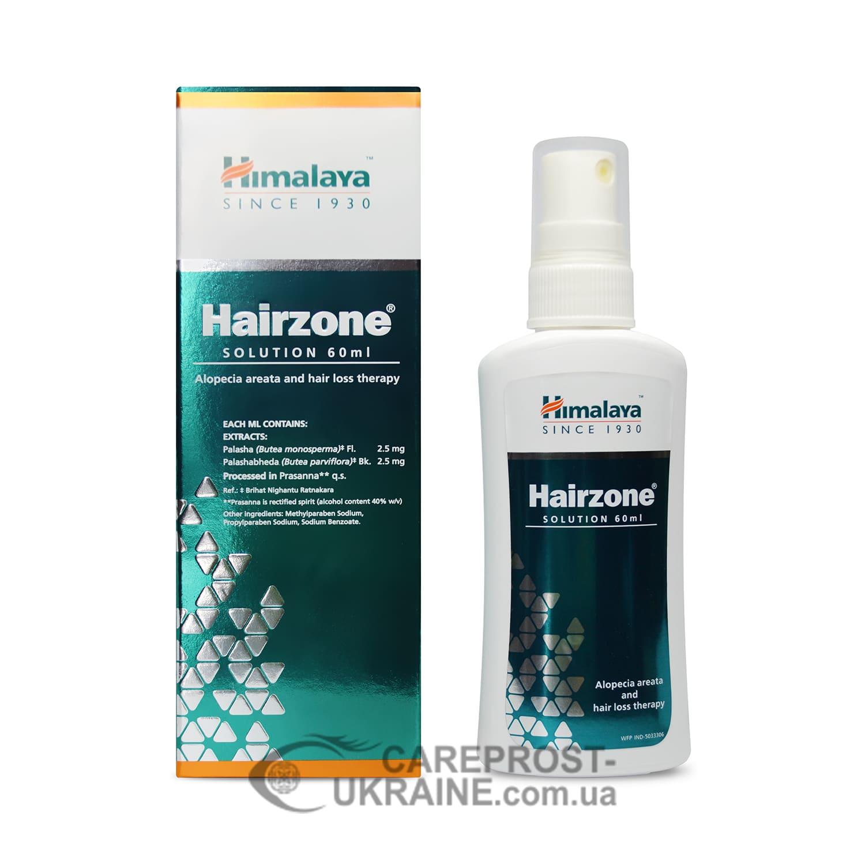 Хэйрзон спрей, Хималая (Hairzone Solution, Himalaya), 60 мл