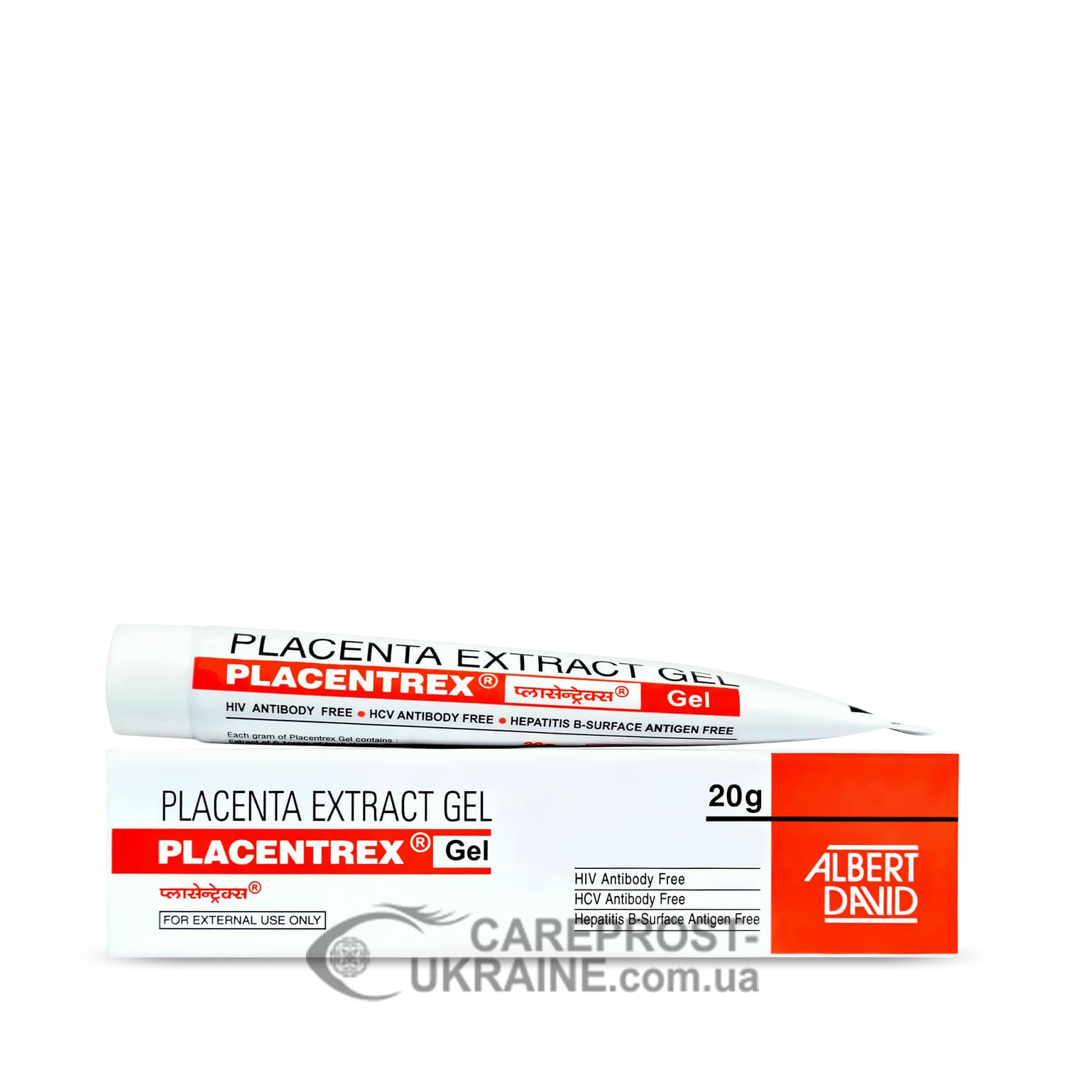 Гель с экстрактом плаценты (Placenta Extract Gel) Placentrex 20г