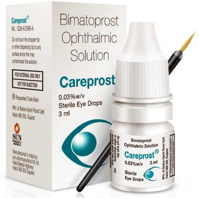 Карепрост (Careprost) для роста ресниц и бровей, Оригинал, 3 мл