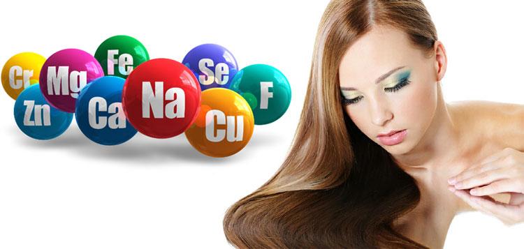 Минералы и витамины, полезные для волос